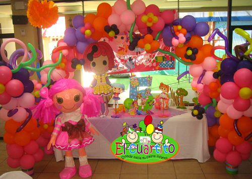 Lalaloopsy and fiestas on pinterest - Decoracion de salones para fiestas ...