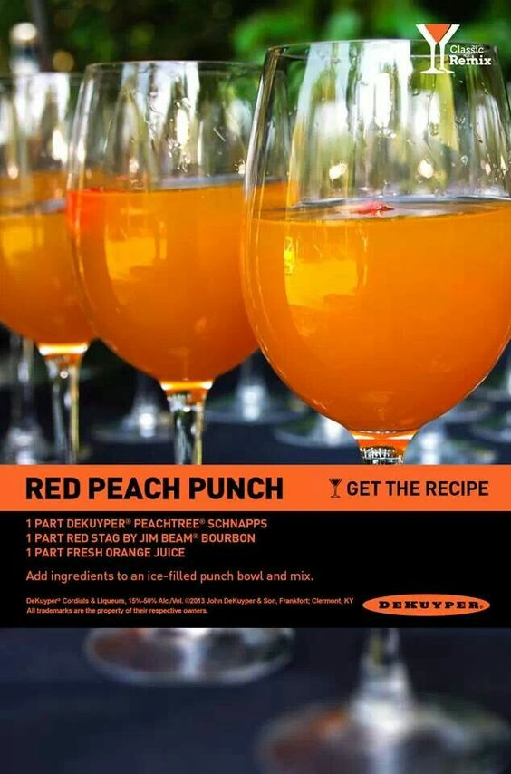 Red Peach Punch