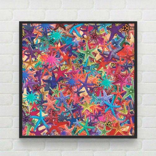 Quadro Mar de Estrelas by Print & Co