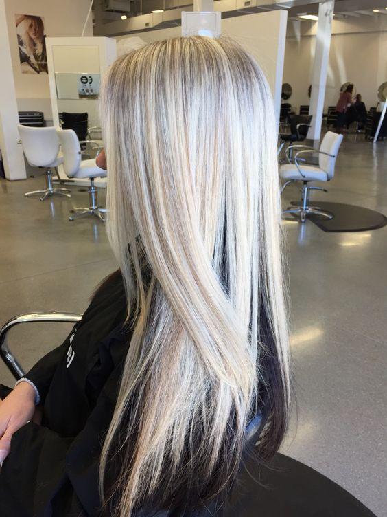 Ice Blonde Xostylistxo Ash Stylz Hair Pinterest