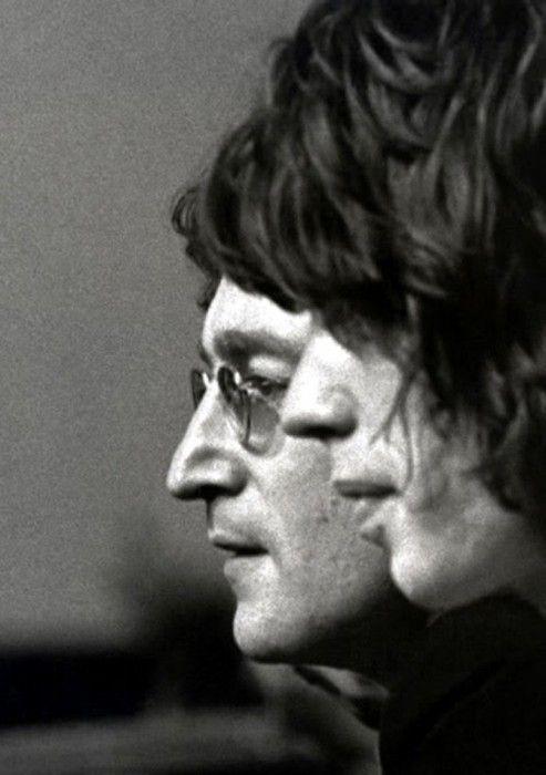 John Lennon. Mick Jagger.