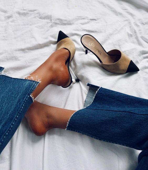 Hier scoor je de mooiste Chanel look a like pumps
