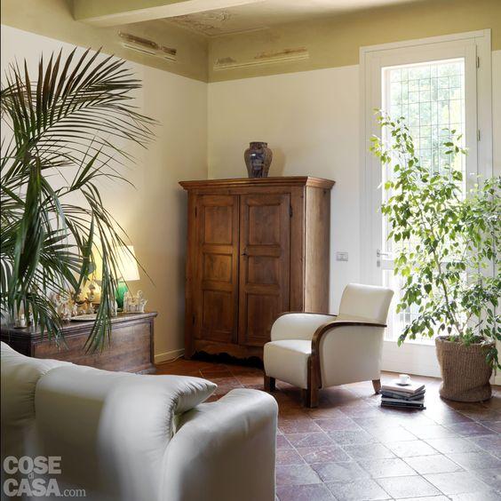Ritorno al passato per l'abitazione tradizionale con pavimenti in cotto e…