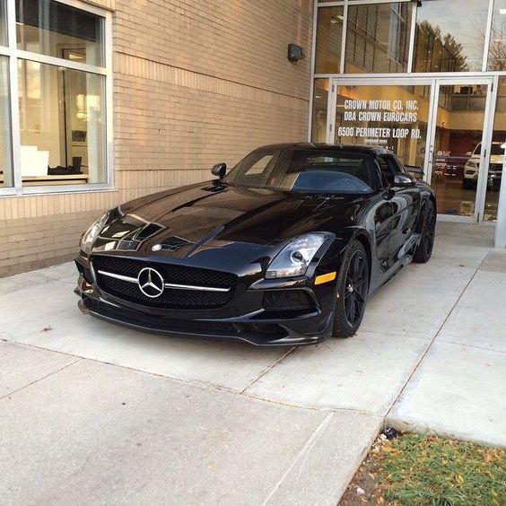 2013 Mercedes Benz SLS
