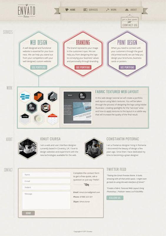 Web-design tuts