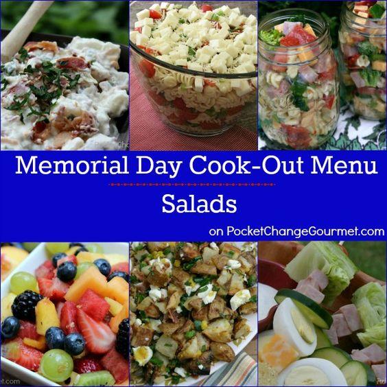 memorial day meal menu