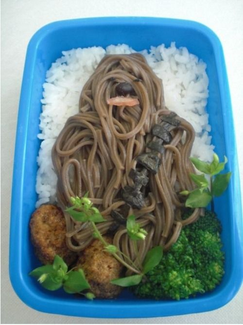 Chewbacca Bento lol