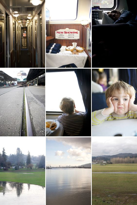 Train ride from Seattle to SF | Oh Happy Day