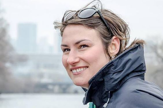 With a passion to do good instilled deep within her, Jenn Junk rowed around Lake Michigan to raise money for Recovery on Water.
