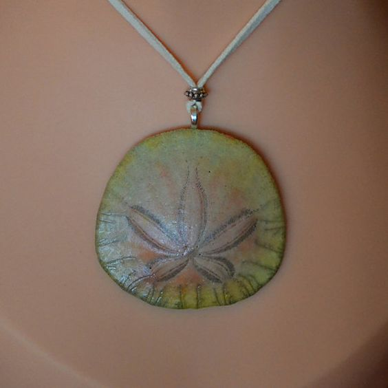 real sand dollar necklace sunrise coats preserve and