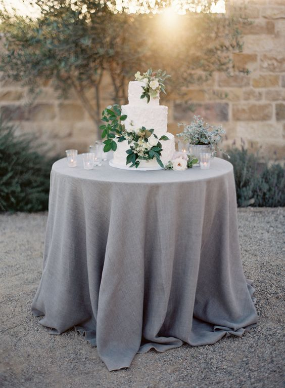 Wedding table. Gray and yellow color scheme. Yellow ... |Wedding Grey Table Linens