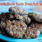 maple apple breakfast sausage  >>  http://www.savorylotus.com/2013/08/19/homemade-maple-apple-breakfast-sausage/