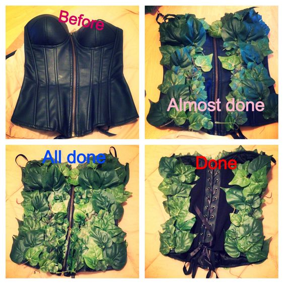 DIY poison ivy costume!
