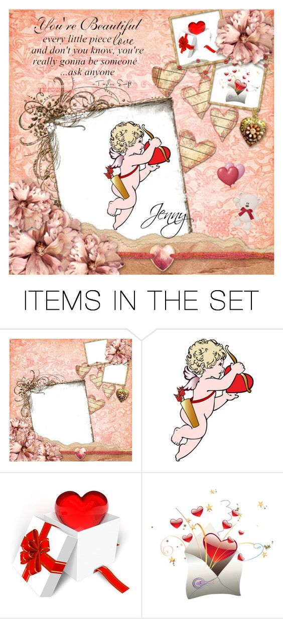 """valentines"" by smile2528 ❤ liked on Polyvore featuring art"