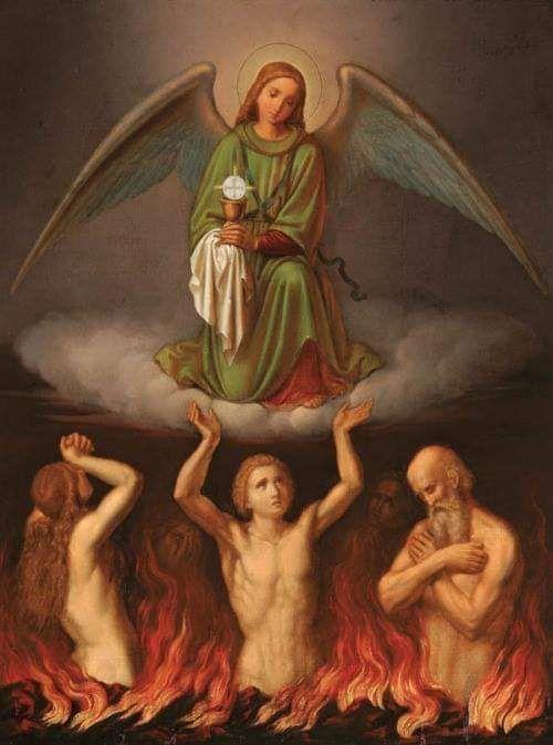 Sufragios por las benditas almas del purgatorio | Imágenes religiosas,  Oracion a las animas, Conmemoracion de los fieles difuntos