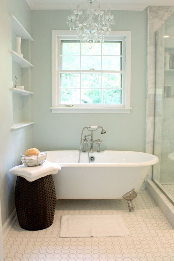 8 most popular blue green paint colours sherwin williams for Sherwin williams bathroom paint colors