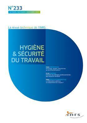 Les nanomatériaux, bilan et perspectives en santé et sécurité au travail : dossier, Hygiène et sécurité du travail, 09/2013, http://www.inrs.fr/media.html?refINRS=DO%202