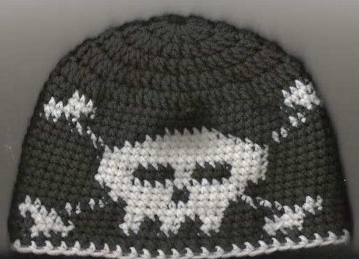 Free Crochet Pattern For Skull Hat : Best ideas about Crochet Skull Hat Free Pattern, Crochet ...