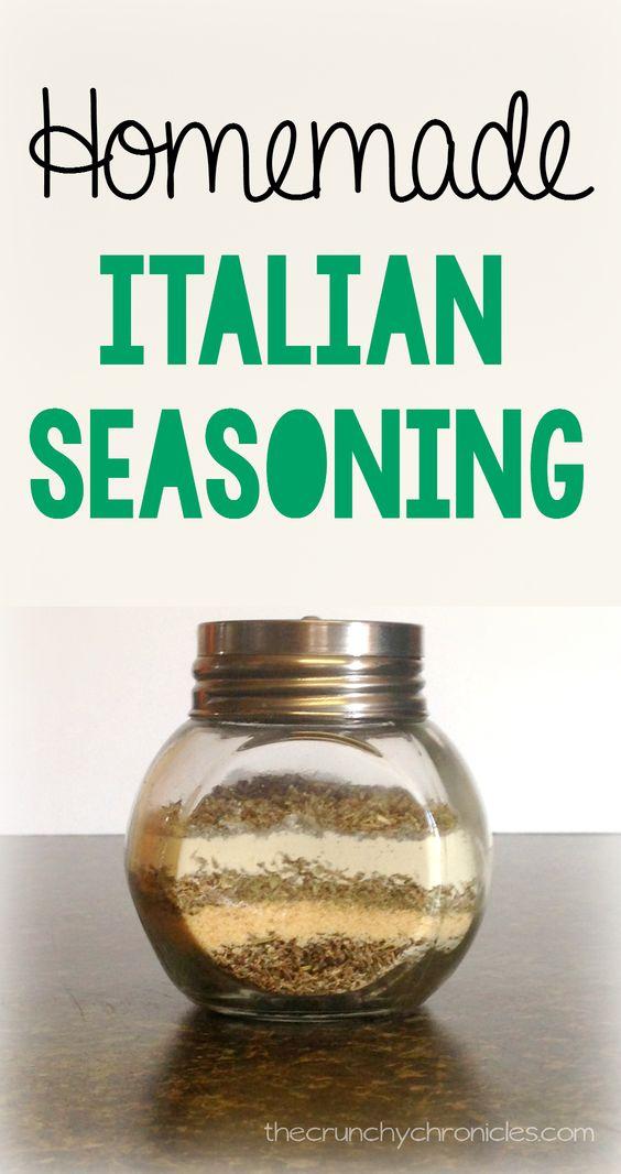 how to make italian seasoning spice