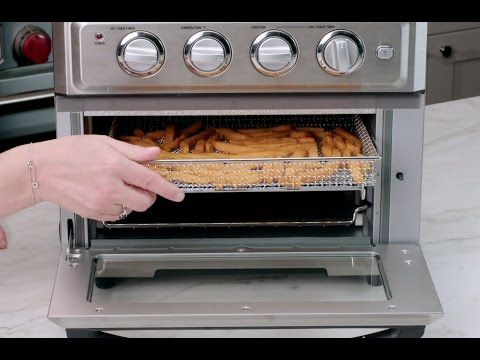 This Unique Kitchen Workhorse Is Actually A Premium Full Size Toaster Oven With A Built In Air Fryer That Means It Not Only Bakes Toaster Oven Air Fryer Oven