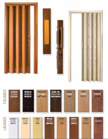 Puertas plegables de pvc puertas plegables pinterest - Puertas pvc plegables ...