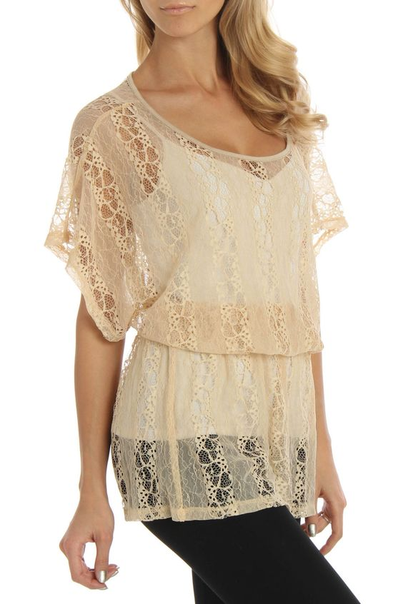 Brilliant Lace Blouses