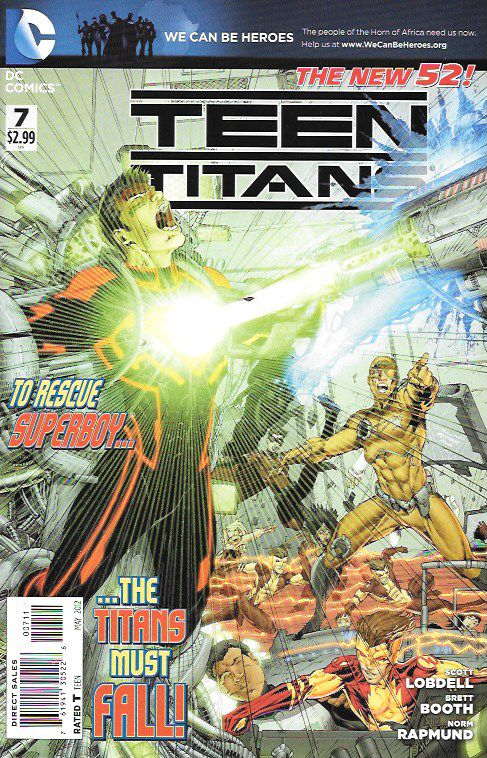 Teen Titans # 7 DC Comics The New 52! Vol 4