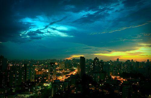 City sky.