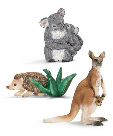 Look what I found on #zulily! Australia Wildlife Figurine Set by Schleich #zulilyfinds