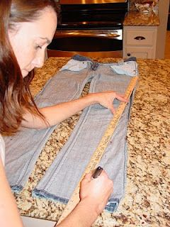 Holy Craft: Making your own skinny jeans