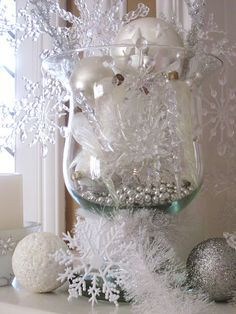 Christmas DIY: Winter Mantel - Gorg Winter Mantel - Gorgeous #christmasdiy #christmas #diy