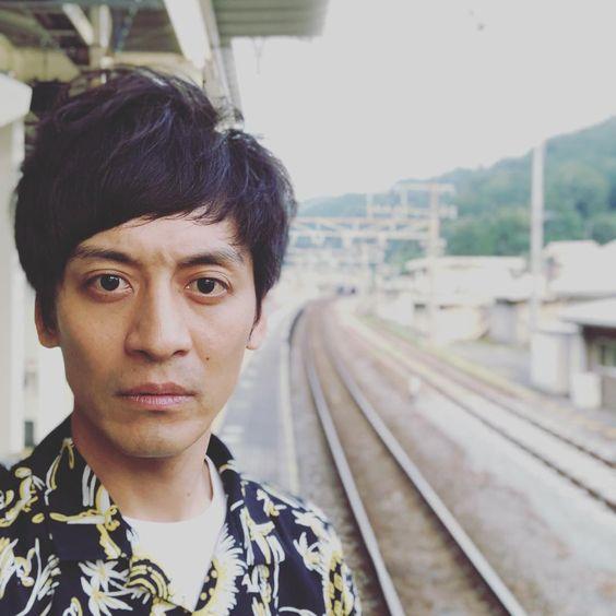 駅での村田さん