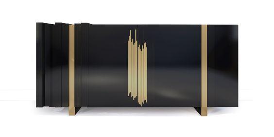 Messing Sideboard Wohndesign Wohnzimmer Ideen BRABBU - einrichtungsideen single frau