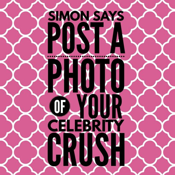 Simon Says game: celebrity crush. #ThirtyOne #ThirtyOneGifts #31Party #MarketingMaterials #OnlineParty #FacebookParty