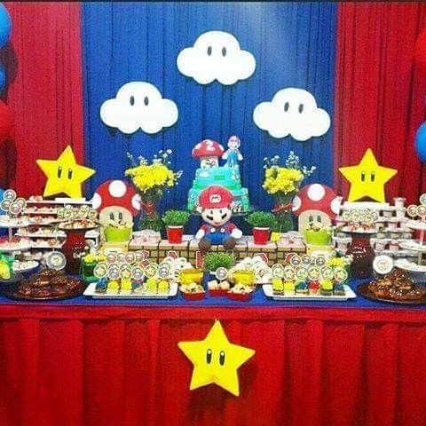Pin By Gissela Floriano On Fiesta Super Mario Bros Party Mario Bros Party Super Mario Birthday Party