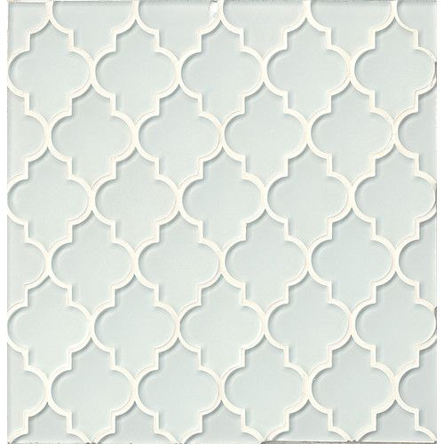 Found it at Wayfair - Mallorca Glass Mosaic Tile in White Linen