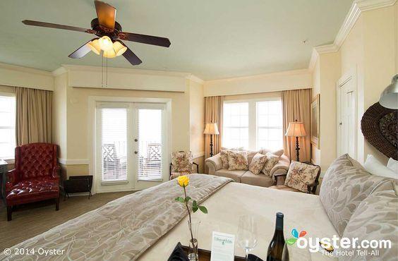 Our romantic Corner Suite at Henderson Park Inn