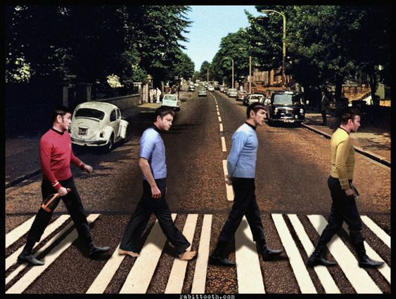 Star Trek Abbey Road by ~Rabittooth on deviantART
