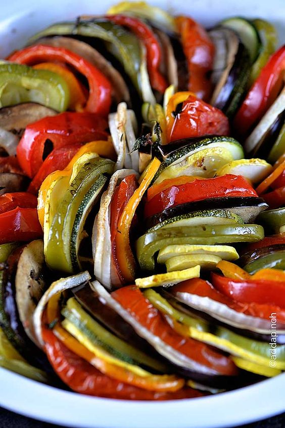 Receta de ratatouille, Ratatouille and Verduras on Pinterest
