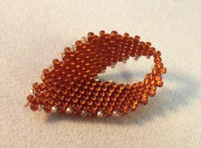 How to Make Russian Style Leaves Using Peyote Stitch.  ~ Seed Bead Tutorials