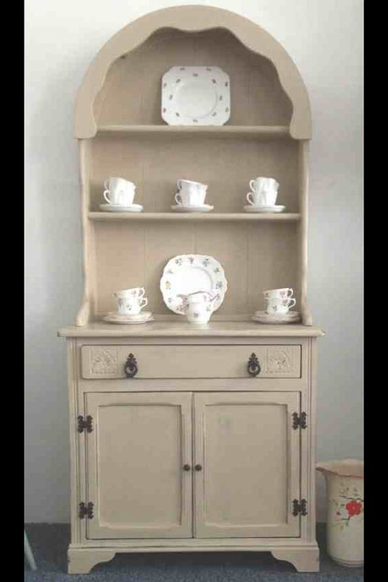 Small Dutch Dresser Painted Cream By Miriweston On Etsy 163