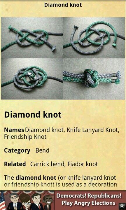 decorative knot tying instructions