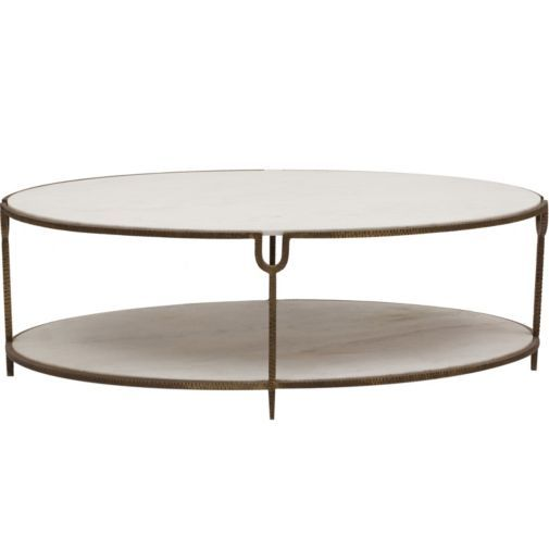 Oval Coffee Tables White Marble And Coffee Tables On Pinterest