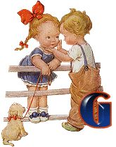 Alfabeto retro de niños en la barda. | Oh my Alfabetos!
