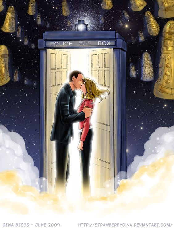 Doctor Who - Parting of Ways by ~strawberrygina on deviantART
