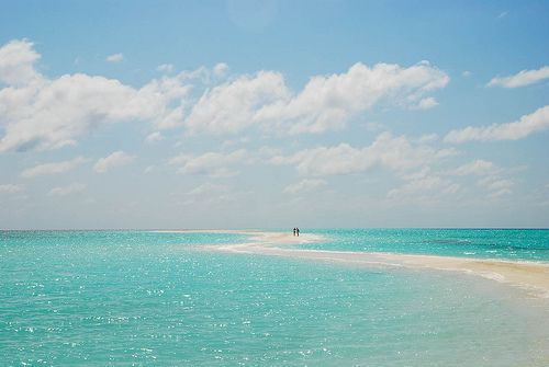 To walk on that beach . . . where in the world is this?? Stunning colour