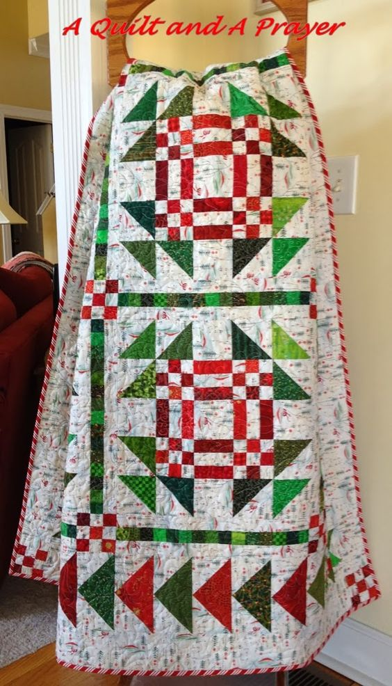 Christmas Geese quilt by A Quilt and A Prayer: December 2013