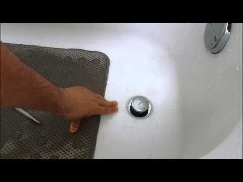 How To Replace A Bathtub Drain Stopper Toe Touch Youtube In 2020 Bathtub Drain Bathtub Drain Stopper Bathroom Sink Stopper