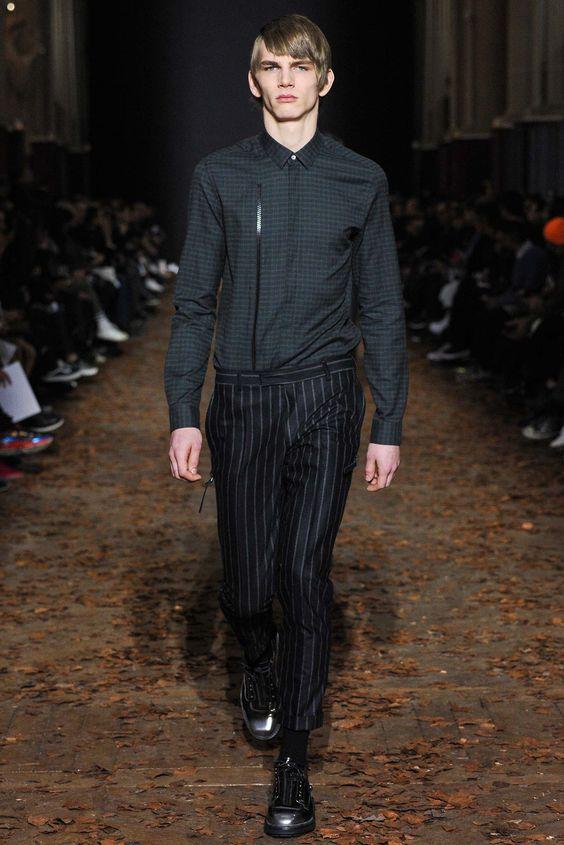 Kris Van Assche Fall 2015 Menswear