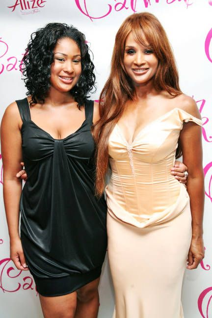 Anansa Sims and Beverly Johnson